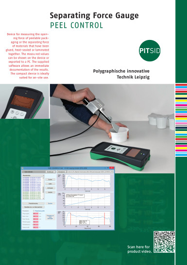 PDF-Download - Opening Force Gauge PEEL CONTROL - brochure